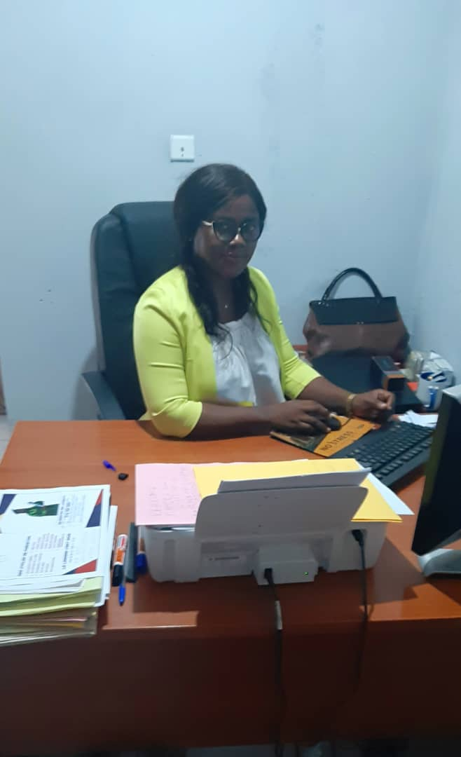 MME. TAMGNO LILIANE (DIRECTRICE MARKETING ET RELATIONS PUBLIAUES)